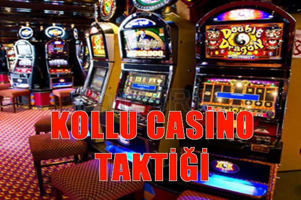 Casino oyunları, casino oyunu taktikler, Kollu casino oyunu taktiği